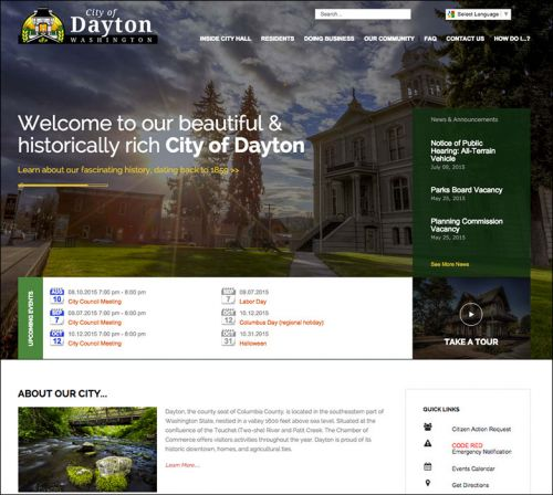 City of Dayton, Washington