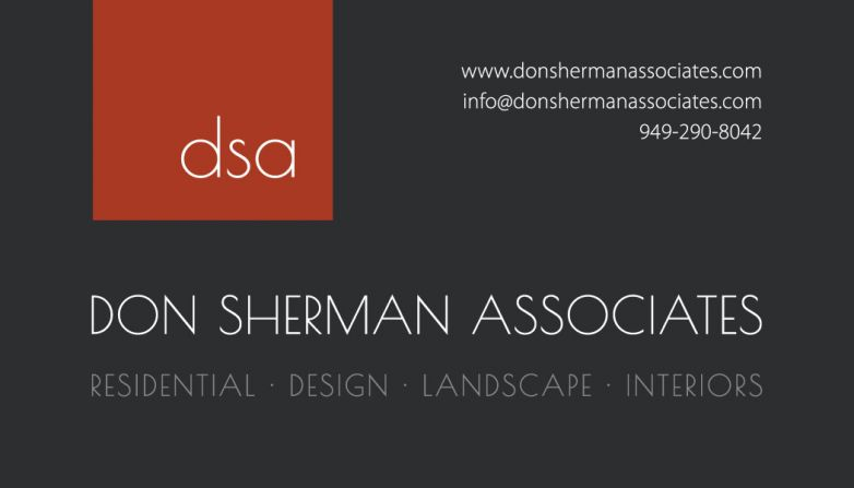 Don Sherman Associates Business Card Design