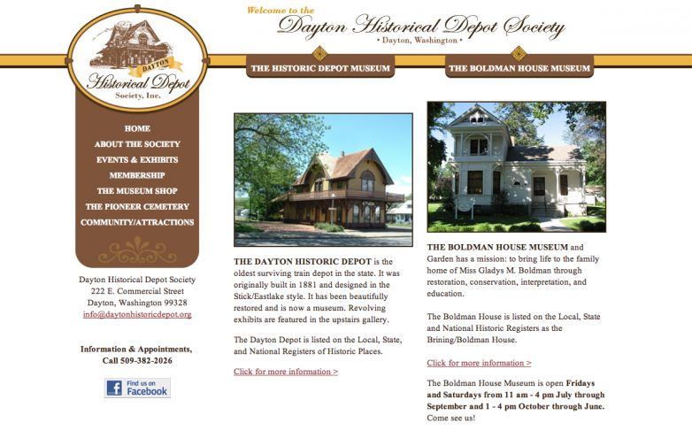 Dayton Historic Depot Society