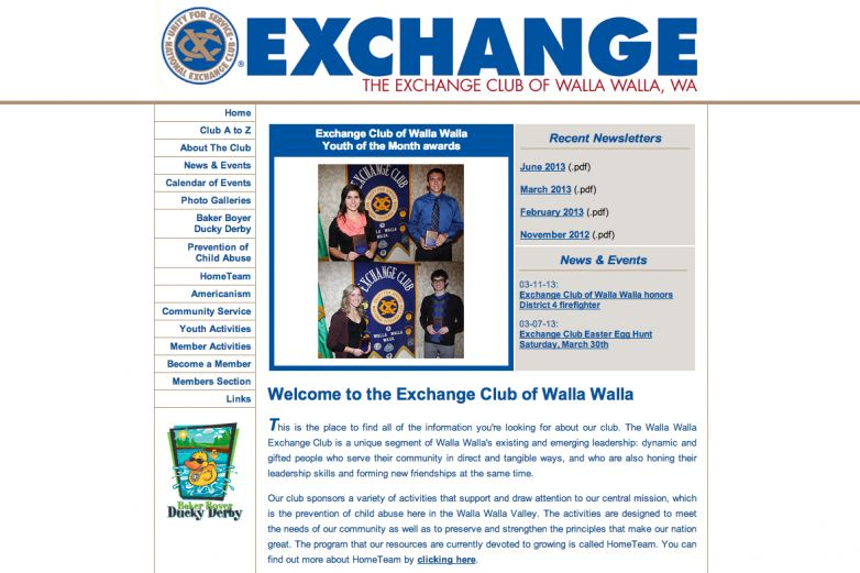 Walla Walla Exchange Club