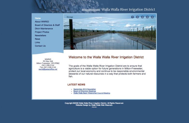 Walla Walla River Irrigation District